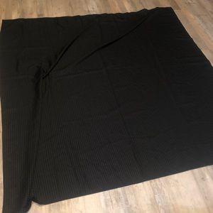 Black Plaid Shower Curtains